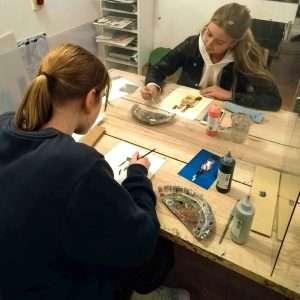 GCSE in action Dorking